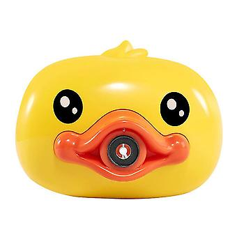Little yellow duck bubble machine children's toy