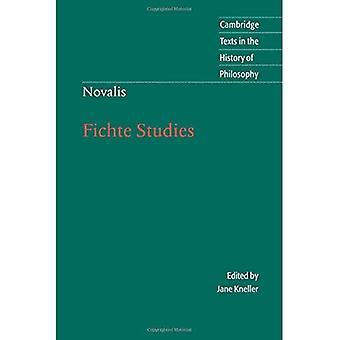 Novalis : Fichte Studies