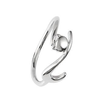 4PCS Silver plating Lazy Cat  Open Ring Fashion  Student Accessories Jewelry