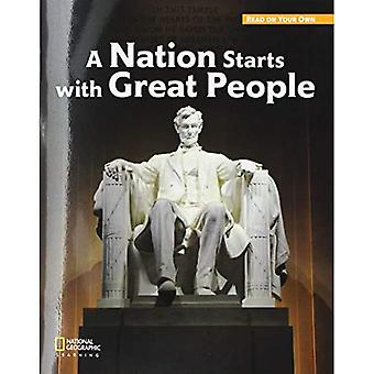 ROYO READERS LEVEL C A NATION STARTS WITH GREAT PEOPLE