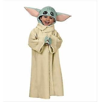 Baby Yoda Mandalorian Costume Kids Unisex(L)