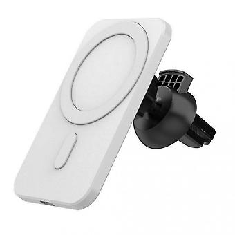 Qian Car Mount Wireless Charger For Iphone 12/12 Pro/12 Mini/12 Pro Max