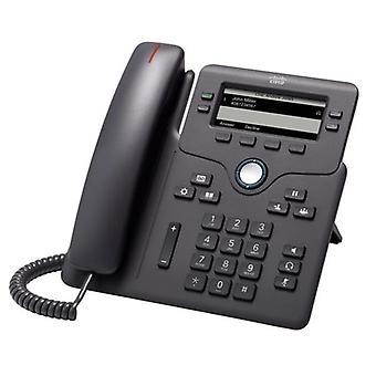 Cisco 6851 Ip-telefon sladdad kol 4X total linje Voip