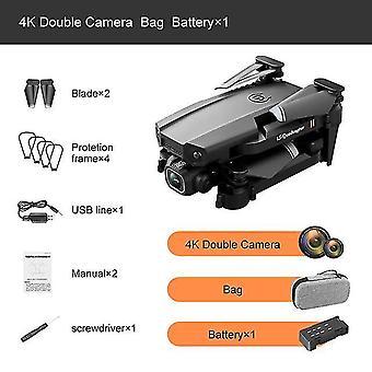 2020 Nuevo dron xt6 lente dual 4k fotografía aérea de alta definición flujo óptico altura fija rc