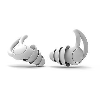 Homemiyn القابلة لإعادة الاستخدام سيليكون Earplugs للماء الضوضاء الحد من سدادات الأذن للنوم والسباحة والشخير، والحفلات الموسيقية، ما يصل إلى 32db Nrr، بما في ذلك التخزين B