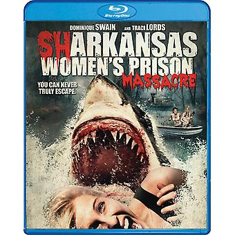 Sharkansas Women's Prison Massacre [Blu-ray] USA import