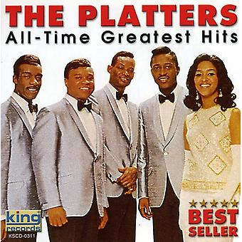 Pladerne - alle tid Greatest Hits CD] USA importerer