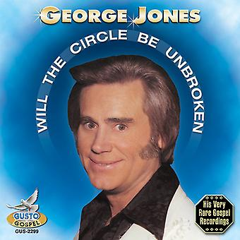 George Jones - Will the Circle Be Unbroken [CD] USA import