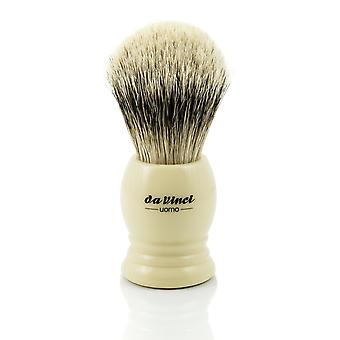 Da Vinci UOMO 298 Silvertip Badger Shaving Brush | ø20mm
