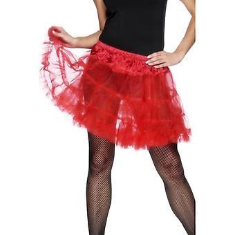 Alushameen punainen petticoat seksikäs hame hyvät yksi koko