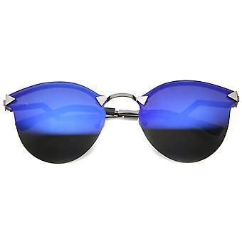 メンズ メタル サングラス UV400 と保護ミラー レンズ