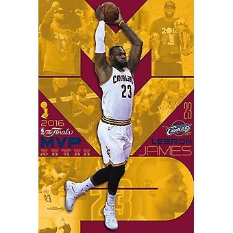 2016 NBA-finalerna - MVP affisch affisch Skriv