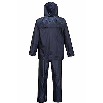 Portwest - Workwear Essentials Rainsuit impermeável (jaqueta e calça terno)
