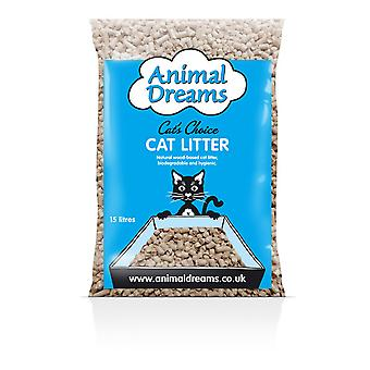 Animal Dreams Cats Choice Woodbase Cat Litter