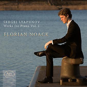 Lyapunov / Noack - Sergei Lyapunov: Works for Piano 2 [SACD] USA import