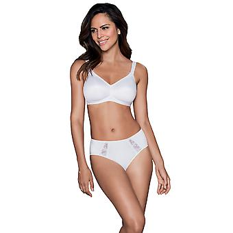 Rosa Faia 5620-006 Women's Grazia White Non-Wired Soft Bra