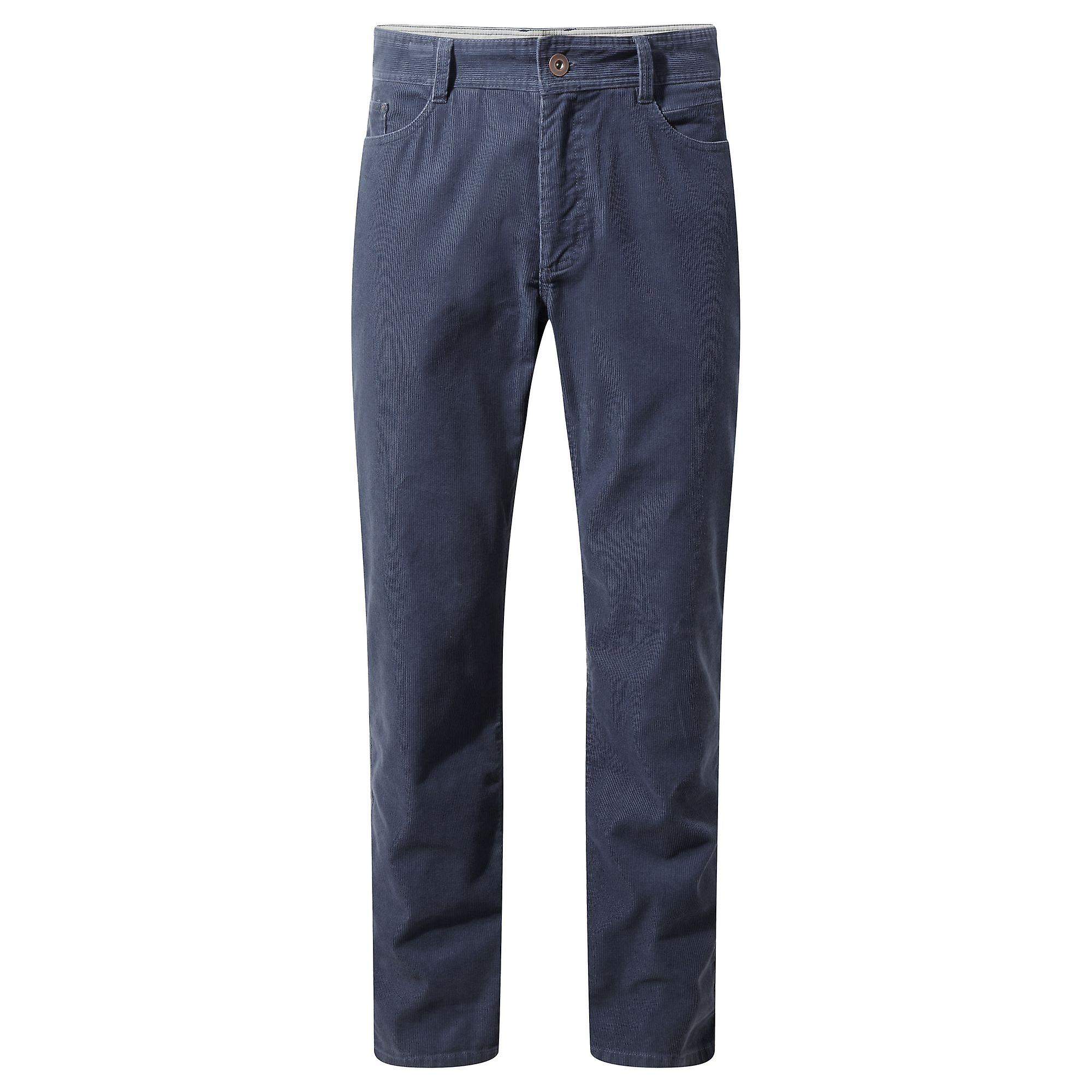 Craghoppers Mens Bardsey Twill Corduroy Trousers