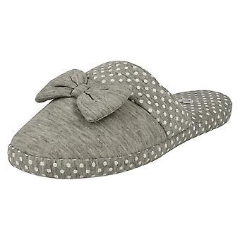 Ladies Sleep Lounge Slip On Slipper Shoes X2099