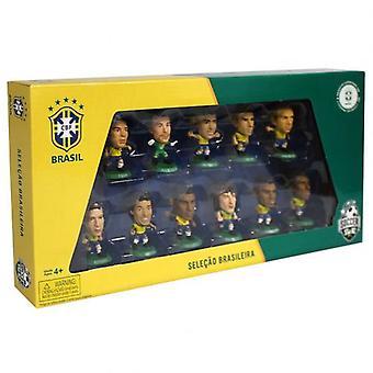 Пакет SoccerStarz команда Бразилии