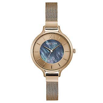 Kenneth Cole New York vrouwen pols horloge analoog kwarts roestvrijstaal KC15187001