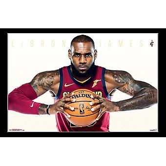 Cleveland Cavaliers - Lebron James Poster Print