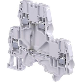 ABB 1SNK 506 211 R0000 Dualport Kontinuität 6 mm Schrauben Konfiguration: L Grau 1 PC