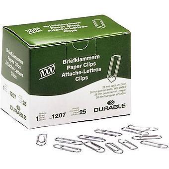 Kestävä paperi clip 120725 26 mm 1000 PCs()