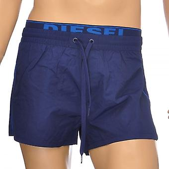 DIESEL BMBX Seaside E ceinture Logo Swim Shorts, bleu, grand