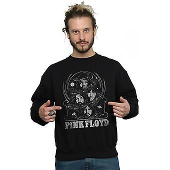 Pink Floyd Men's Distressed Faces Sweatshirt