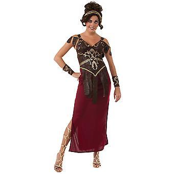 Glamazon gresk romerske kriger Xena spartanske Gladiator kriger kvinner drakt