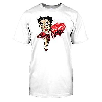 Betty Boop - Baiser Mens T Shirt