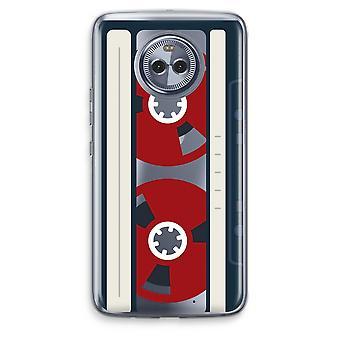 Motorola Moto X 4 Transparent fodral (Soft) - här är din tejp