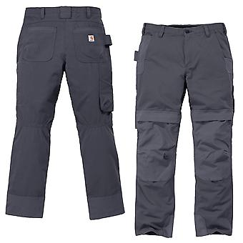 Carhartt men's cargo pants steel multi-Pocket full swing