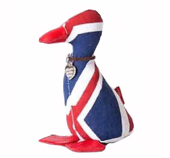 Union Jack Presse-papiers Duckling par Monica Richards