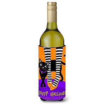 Halloween sorcières pieds bouteille de vin boisson isolateur Hugger