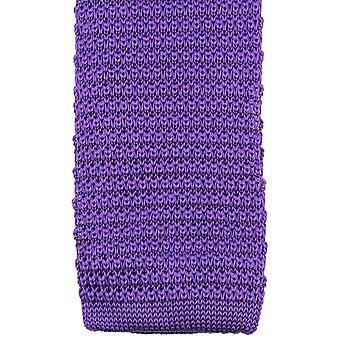 Knightsbridge halsdukar stickad slips - lila