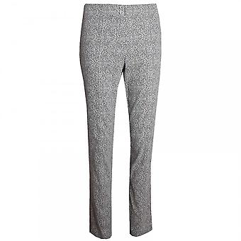 Betty Barclay Printed Classic Straight Leg Trousers