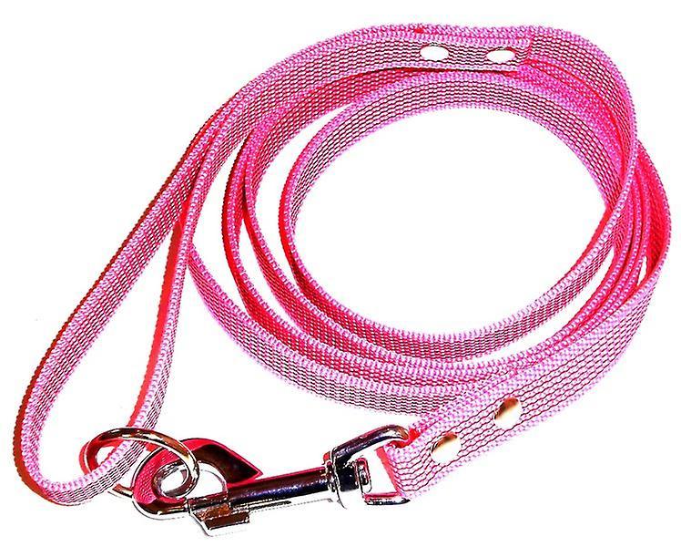 K9-Sport Super-Grip leash with handle, pink