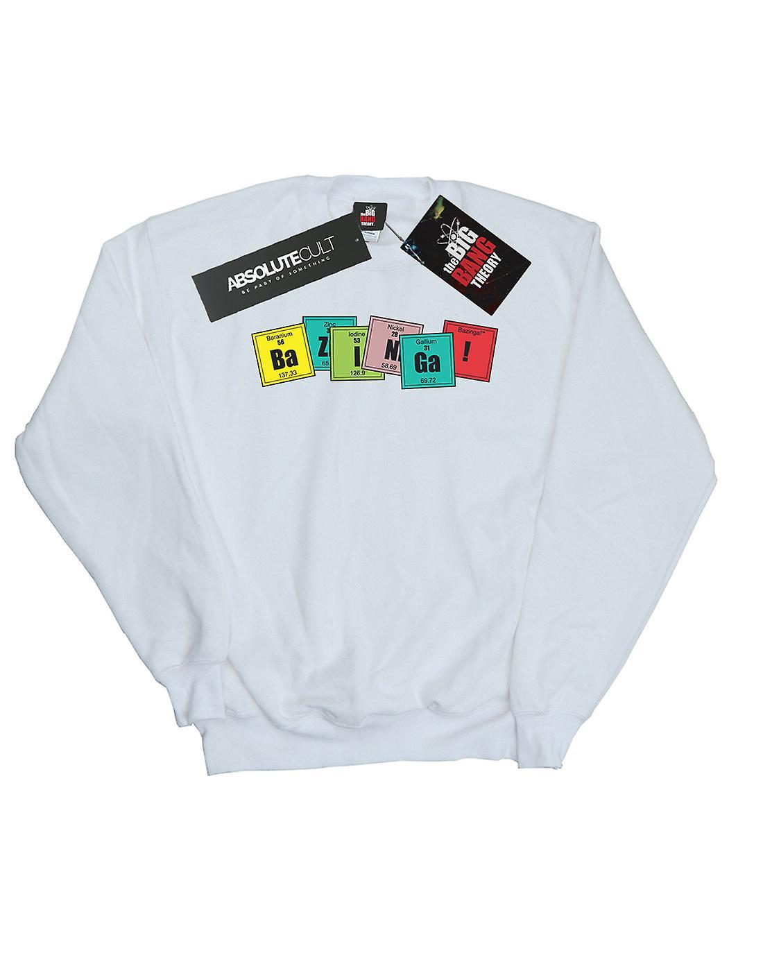 The Big Bang Theory Men's Bazinga Elements Sweatshirt