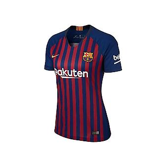 Nike FC Barcelona Home Stadion Womens 894447456 Fußball atmen alle Jahr Frauen T-shirt