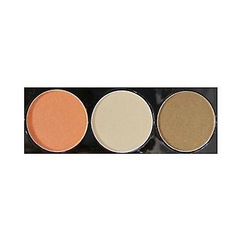 NYX Cosmetics Eyeshadow Trio 2.1g