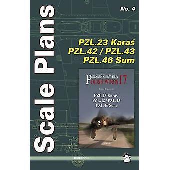 Scale Plans PZL.23 Karas by Dariusz Karnas - 9788363678357 Book