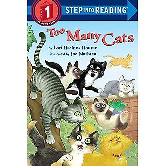 Teveel katten (Step Into - niveau 1 - Paperback lezen)