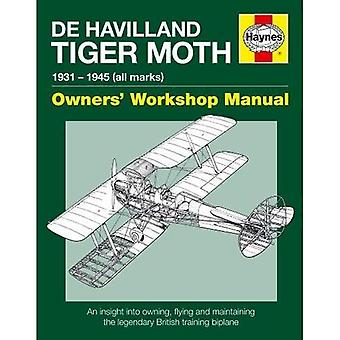 De Havilland Tiger Moth handleiding (Pbk)