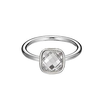ESPRIT women's ring silver Glam fever ESRG91659C1