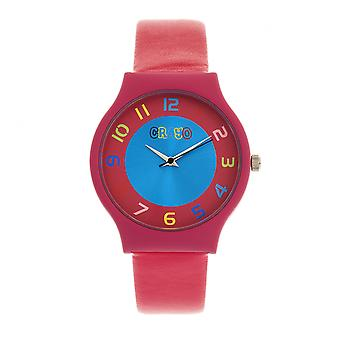 Crayo Jubilee Unisex Watch - Rose chaud