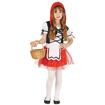 Filles mignon Little Red Riding Hood costumé