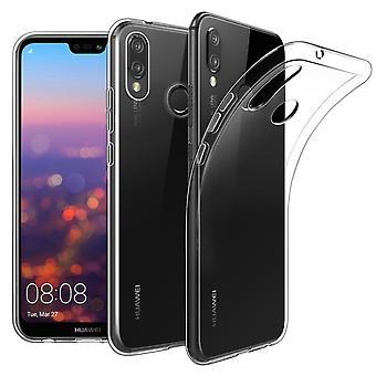 Huawei P20 Lite avoin kattaa silikoni