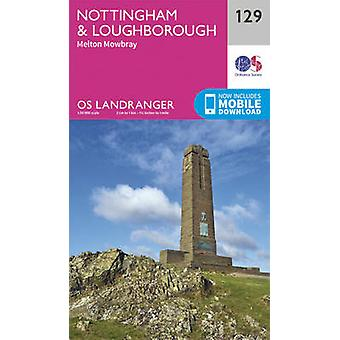 Nottingham & Loughborough - Melton Mowbray (February 2016 ed) by Ordn