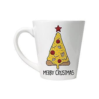 Grindstore Merry Crustmas latte caneca